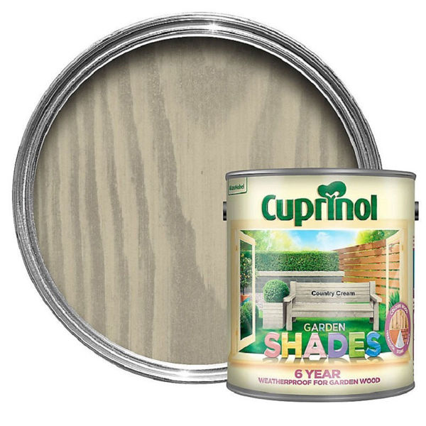 Picture of CUPRINOL GARDEN SHADES COUNTRY CREAM 2.5LT