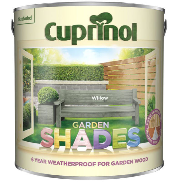 Picture of CUPRINOL GARDEN SHADES WILLOW 2.5LT