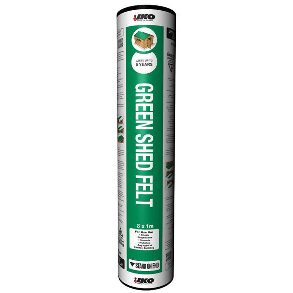 Picture of IKO GREEN SHED FELT 8 X 1MT