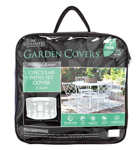 Picture of FURNITURE COVER - CIRCULAR PATIO SET COVER 4 SEAT