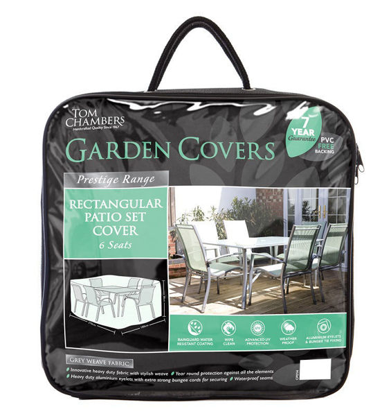 Picture of FURNITURE COVER - RECTANGULAR PATIO SET - 6 SEATS