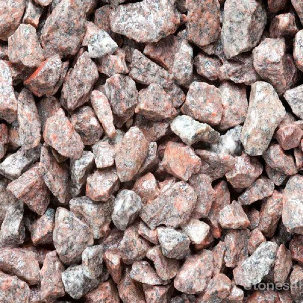 Picture of TON  BAG PINK GRANITE CHIP 20MM