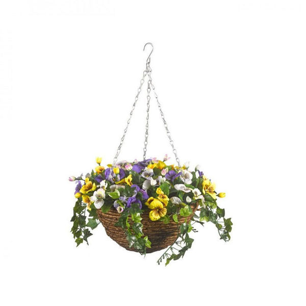 Picture of PANSY HANGING BASKET