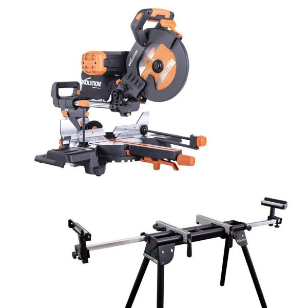 Picture of EVOLUTION R255SMS-DB+ MITRESAW & STAND