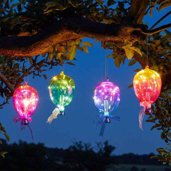 Picture of SOLAR POWERED - FIREFLY BALLOON